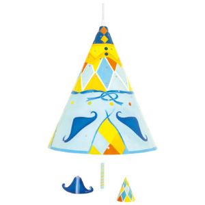 L'oiseau bateau Suspension lumineuse Nuitéjours Arlequin