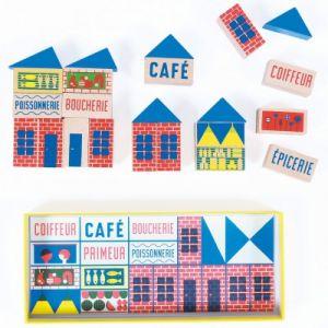 Moulin roty Mini jeu de construction Dans la ville 23 pièces