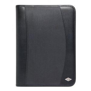 Wedo 58 74901 - Conférencier Elegance, format A4, simili cuir, noir