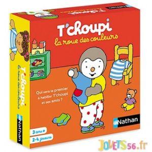 Nathan Jeu éducatif La roue des couleurs T'choupi
