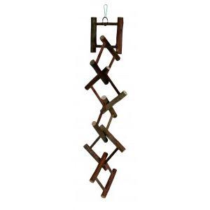 Trixie Echelle en bois Natural Living pour oiseau (58 cm)