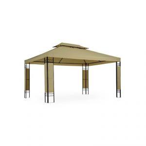 2201011 - Tonnelle de jardin pavillon métal 4 x 3 m