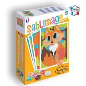 Sentosphère Kit Sablimage Mini - Animaux des bois - 4 tableaux