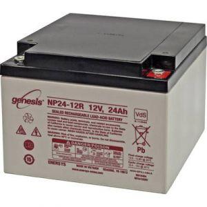 Enersys Batterie au plomb 12 V 24 Ah Genesis plomb (AGM) (l x h x p) 166 x 125 x 175 mm raccord à vis M5 sans entretien,