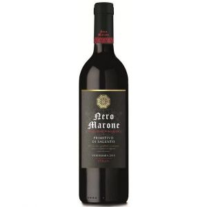 NERO MARONE Salentino Primitivo Vin d'Italie Rouge 75 cl IGP