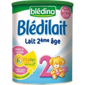 Blédina Blédilait 2ème âge 900 g - de 6 à 12 mois