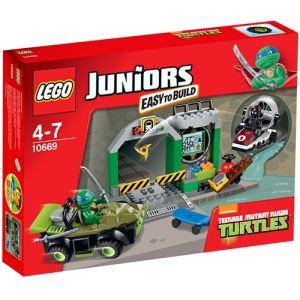 Lego 10669 - Juniors : Le repaire des Tortues Ninja