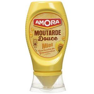 Amora Moutarde douce miel - Le pot de 260g