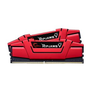 G.Skill F4-2400C15D-16GVR - Barrette mémoire RipJaws 5 Series Rouge 16 Go (2x 8 Go) DDR4 2400 MHz CL15