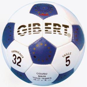 Ballon de football cuir - Taille 5