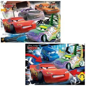 Ravensburger Coffret puzzles Cars: Course Sauvage 2 x 24 pièces