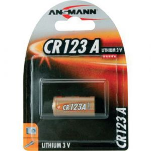 Ansmann CR 123 A - Photo Lithium Blister pack pour Appareil photo