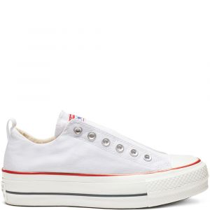 Converse Chaussures Chuck Taylor All Star Low Platform he Femme blanc - Taille 39,40
