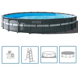 Intex Kit Piscine ™ Ultra XTR Frame Ø 7.32 x 1.32m (Incl. filtre à sable)