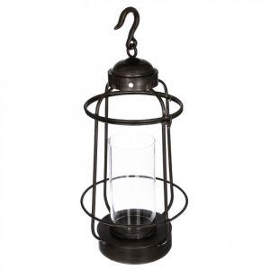 """Lanterne en Métal """"Rétro"""" 62cm Noir Prix"""