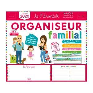 Editions 365 Organiseur familial Mémoniak 2019-2020 - Livre de cuisine