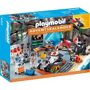 Playmobil 9263 - Calendrier de l'Avent Top Agents Atelier de l'équipe espion