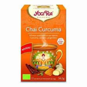 Yogi Tea Infusion Chai Curcuma x17 sachets