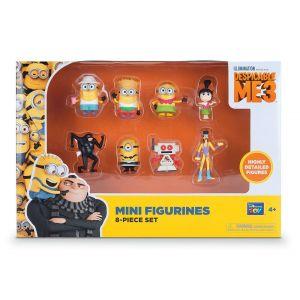 Moi Moche et Méchant 3 - Coffret de 8 figurines