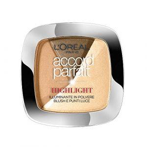 L'Oréal Accord Parfait Highlight Poudre 102.D Eclat Doré