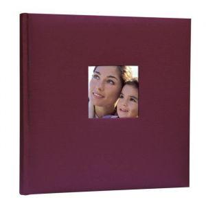 Zep Album photo traditionnel Cotton 40 pages - 24x24 cm - Bordeaux