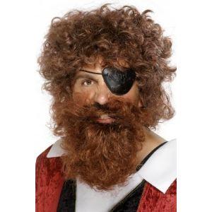 Barbe de pirate homme