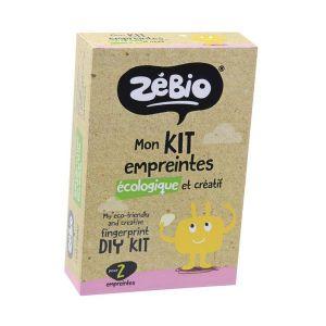 Zébio Mon kit empreintes écologique et créatif