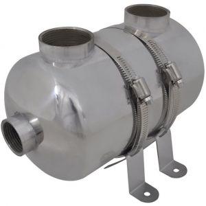 VidaXL Echangeur de chaleur pour piscine 292 x 134 mm 28 kw