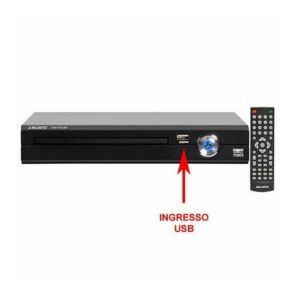 Majestic Audiola DVX-475USB - Lecteur DVD USB-MP3