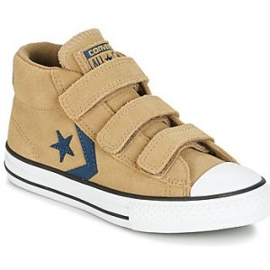 Converse Chaussures enfant STAR PLAYER EV V STAR PLAYER SUEDE MID SANDY/KHAKI/NAVY