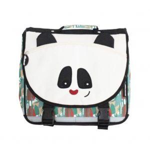 Les Déglingos Les Cartable 35 cm Rototos Le Panda Sac à Dos Enfants, 35 cm, Noir Et Blanc