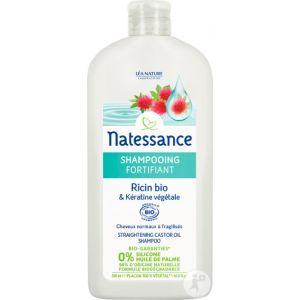 Natessance Shampooing Fortifiant Ricin Bio et Kératine Végétale - 500 ml