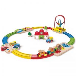 Hape Circuit de train musical