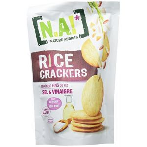 N.a! Rice Crackers Sel/Vinaigre 70 g