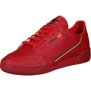 Adidas Chaussures Chaussure Continental 80 rouge - Taille 39 1/3