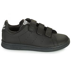 Adidas Baskets basses enfant STAN SMITH CF C ECO-RESPONSABLE Noir - Taille 28,29,30,31,32,33,34,35,30 1/2,28 1/2