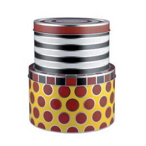 Alessi Boîte Circus / Set de 2 - Métal multicolore en métal