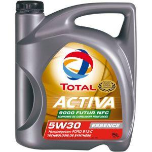 Total Huile moteur Activa 9000 Future NFC 5W30 Essence 5 L