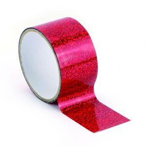 Graine Créative Ruban adhésif décoratif Queen Tape 48 mm x 8 m Horloge rouge