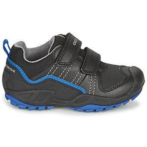 Geox Boots enfant NEW SAVAGE - Couleur 28,29,30,31,32,33,34,35 - Taille Noir