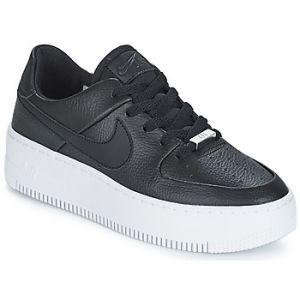 Nike Chaussure de basket-ball Chaussure Air Force 1 Sage Low pour Femme - Noir - Couleur Noir - Taille 36.5