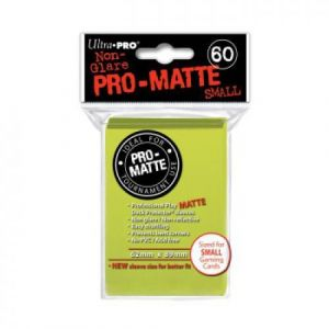 Ultra Pro Sleeves Pro-matte Bright Yellow Sma [Speelgoed]
