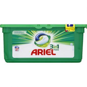 Ariel Lessive Pods 3 en1 Original - 27 doses