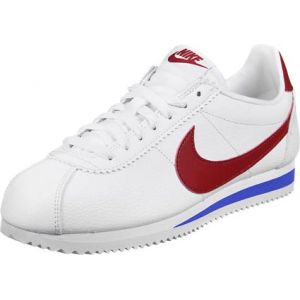 best loved 70333 74115 Nike Classic Cortez Leather chaussures Hommes blanc rouge bleu T. 38,5
