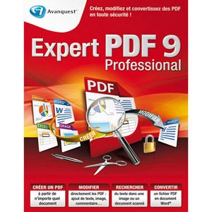Expert PDF 9 Professional pour Windows