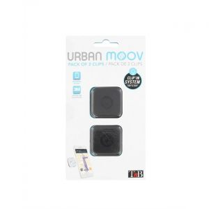 Urban Moov Kit de 2 pads pour fixation CLIP'in