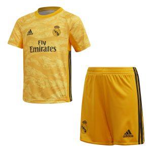 Adidas Kit Mini Gardien de but Domicile Real Madrid 2019-20 - Taille 5-6 Years