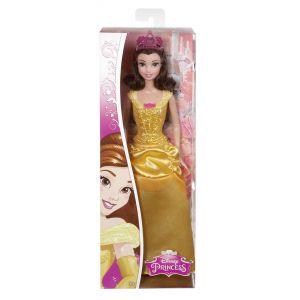 Mattel Poupée Belle Paillettes Disney Princesse