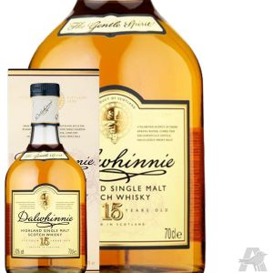 Dalwhinnie Whisky Ecosse Highland Single Malt 15 ans 43 % vol.