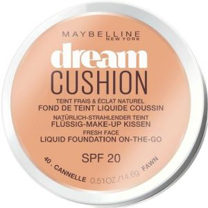 Maybelline Dream Cushion 40 Cannelle - Fond de teint liquide coussin SPF20